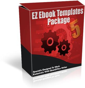 EZebook Master Templates Package 5 with Master Resale Rights