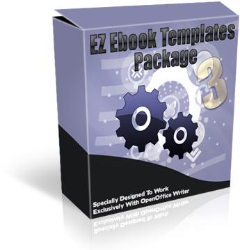 EZebook Master Templates Package 3 with Master Resale Rights